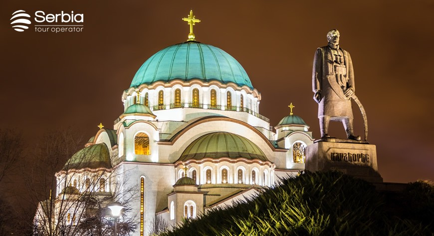 Beograd Hram Karadjordjev spomenik